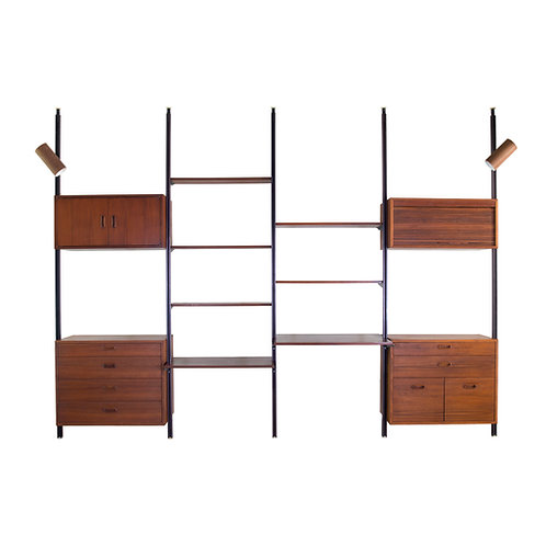 George Nelson Omni Wall Unit 4 Bay
