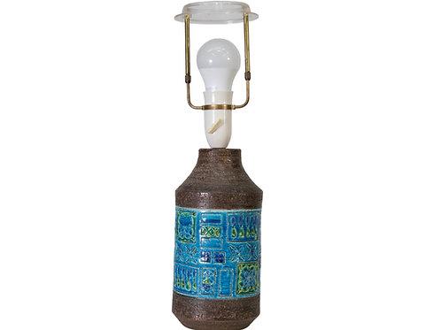 Bitossi Blu Lamp Rimini Aldo Londi