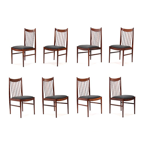 Arne Vodder Sibast Rosewood Dining Chairs