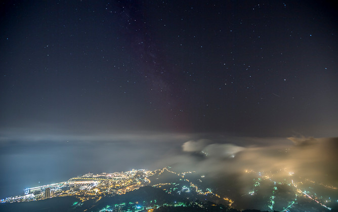 Monaco by night avec le Nikon D5