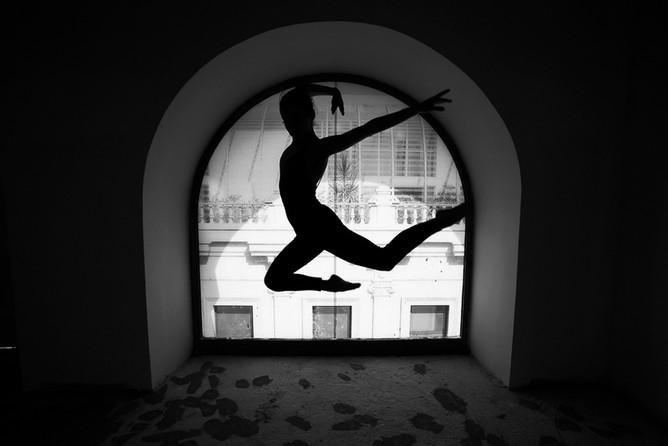 Desislava, danseuse.