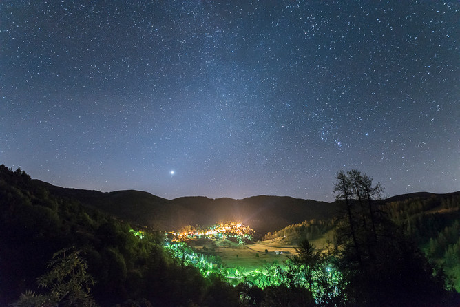 Nuit blanche à Valberg