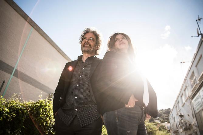 Caroline Gsell et Arnaud Fusté