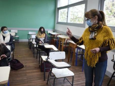 """Gremio advirtió que pedirá """"suspensión de clases"""" en escuelas donde no cumplan con el protocolo"""