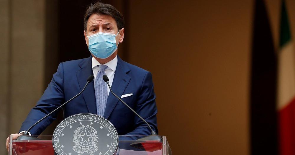 Primer ministro italiano, Giuseppe Conte.