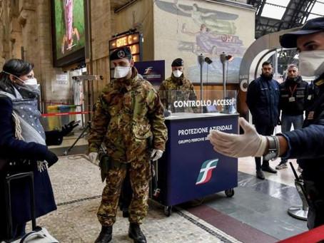 Italia se cierra hasta el domingo para evitar una tercera ola de coronavirus