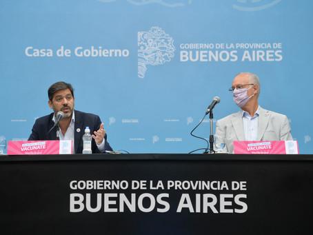 Bianco y Gollan brindarán detalles de la situación epidemiológica y el plan de vacunación bonaerense
