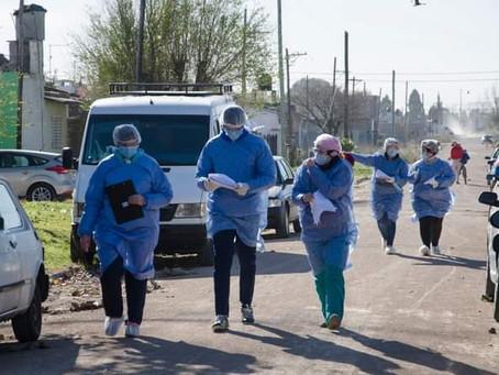 Refuerzan los operativos territoriales para detectar casos en toda la provincia de Buenos Aires