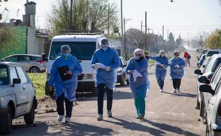 Refuerzan los operativos territoriales para detectar casos en toda la provincia de Buenos Aires.