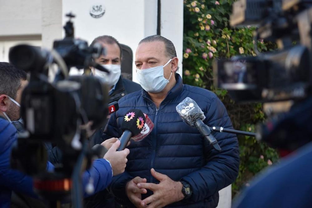 Ministro de Seguridad, Sergio Berni.