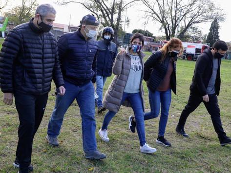 """Berni: """"Lo que pasó en Villa Azul puede llegar a repetirse en otros barrios"""""""
