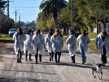 Chascomús   Más de 70 vecinos participaron de un operativo para fomentar la vacunación