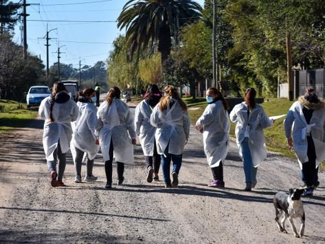 Chascomús | Más de 70 vecinos participaron de un operativo para fomentar la vacunación