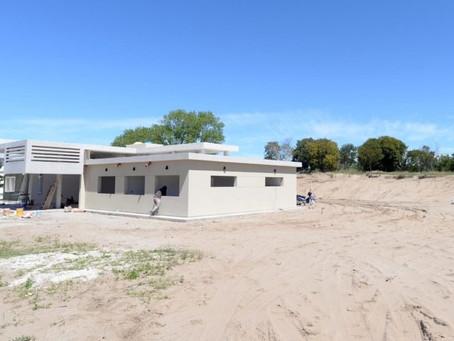 Construyen cinco hospitales modulares en la Costa Atlántica bonaerense