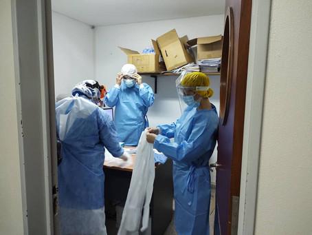 Otras 430 personas murieron y 14.308 fueron diagnosticadas con coronavirus en el país