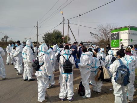 La Plata | La UNLP evaluó esta semana a más de 3 mil personas de la distintos barrios de la región
