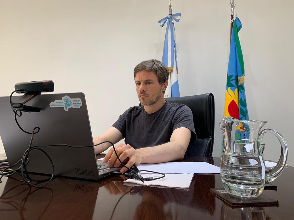 Ministro de Producción, Augusto Costa.