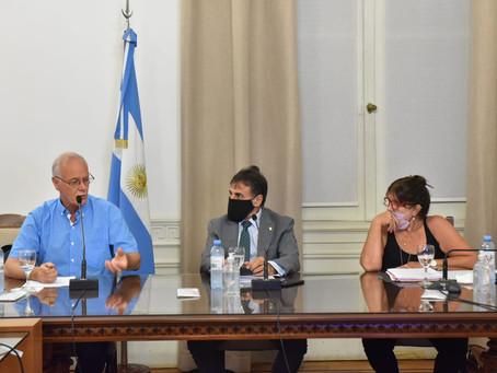 Gollan y García expusieron sobre el proyecto que crea una Agencia Provincial de Cannabis Medicinal
