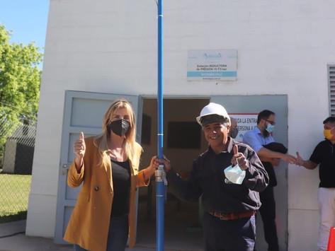 Cañuelas   Inauguran obra de gas que beneficiará a 4.200 vecinos de Máximo Paz