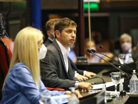 Kicillof anunció que desdolarizará tarifas, recuperará recursos y habrá plan de reactivación