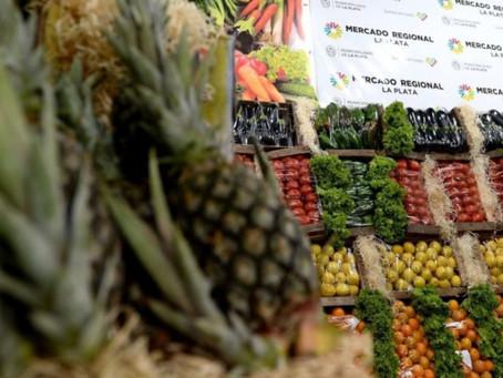 La Plata | Acuerdan precios para la venta al por mayor de 28 verduras y frutas