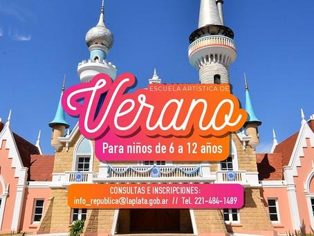 La Plata   Ofrecen talleres gratuitos para chicos en la República de los Niños