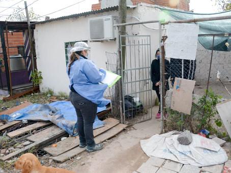 Cinco casos de coronavirus en un barrio popular de Berisso y Ensenada
