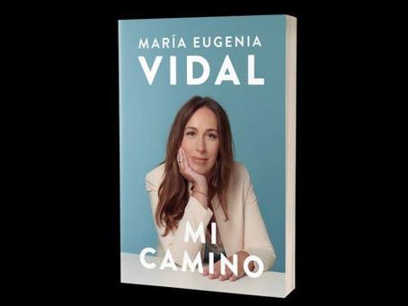 María Eugenia Vidal presenta hoy su libro a través de redes sociales