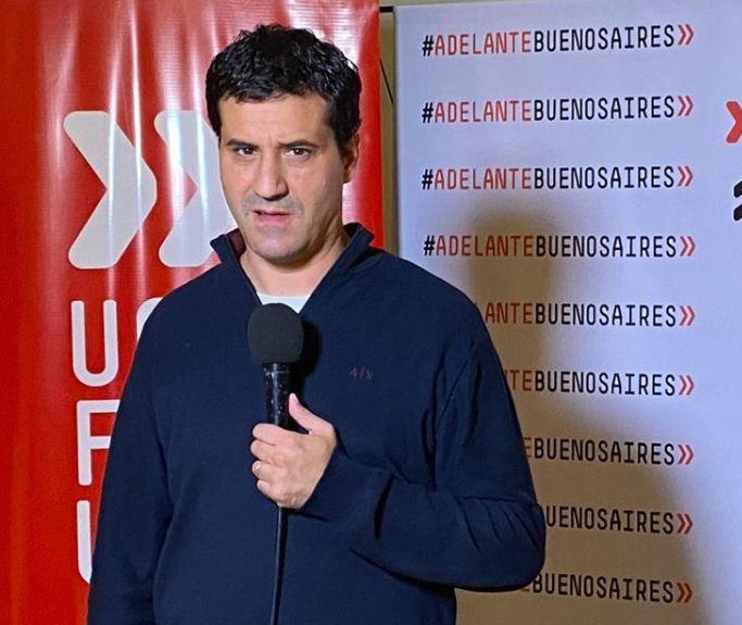 Maximiliano Abad, Diputado provincial y Presidente de la UCR Buenos Aires.