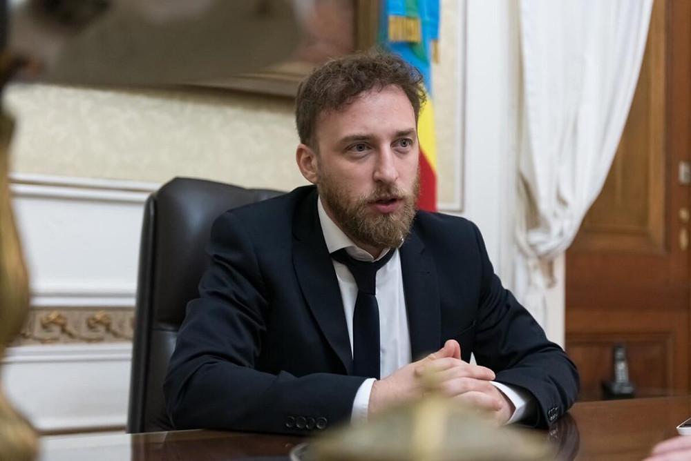Presidente de la Cámara de Diputados de la provincia de Buenos Aires, Federico Otermín.