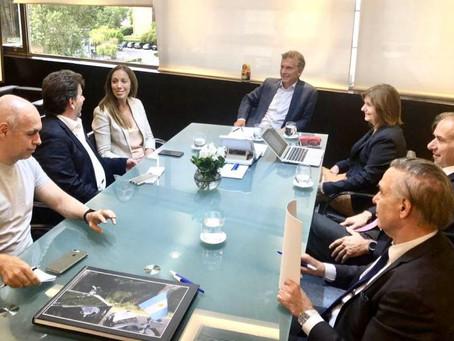 Macri, Vidal y Larreta en una cumbre que dejó más dudas que certezas