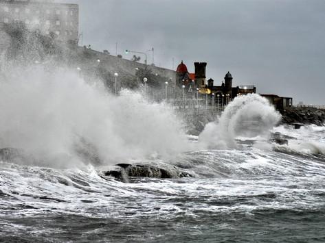 Rige alerta amarilla para la costa atlántica por tormentas