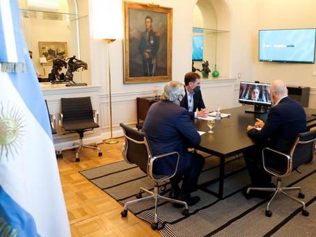 Alberto Fernández evaluó con Larreta y Kicillof cómo será la nueva fase del aislamiento en el AMBA