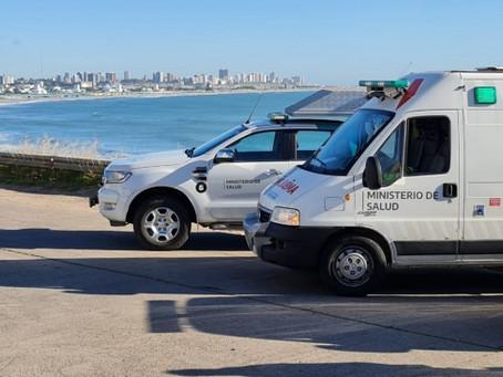 Postas sanitarias en las playas para prevenir los contagios de coronavirus