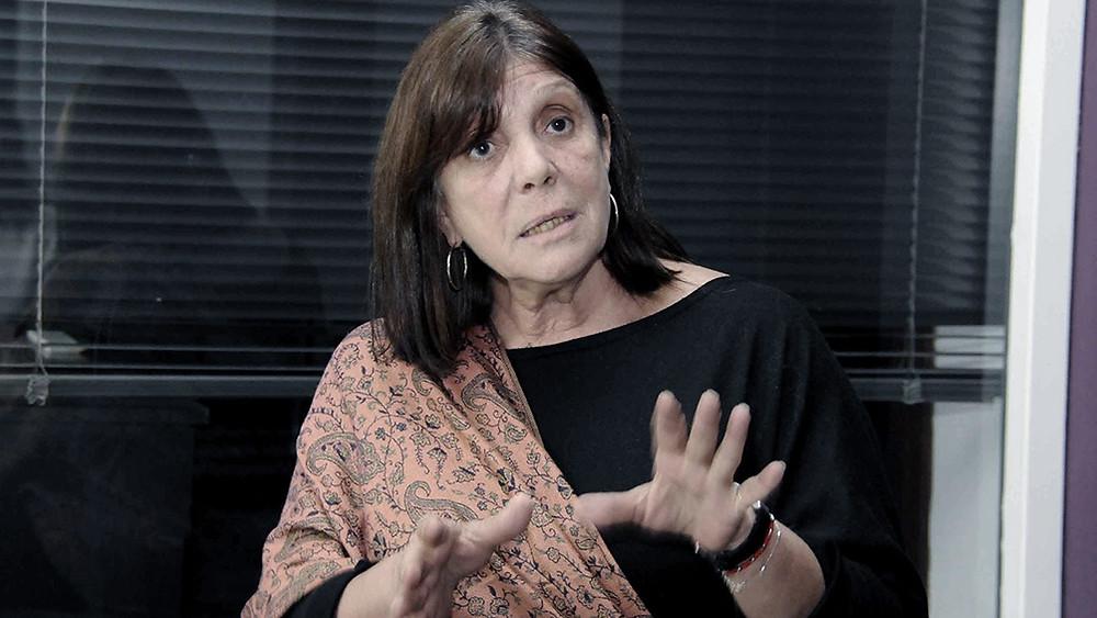 Ministra de Gobierno, Maria Teresa García.