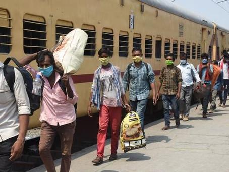 Las autoridades sanitarias indias notificaron menos de 42.000 nuevos casos de coronavirus