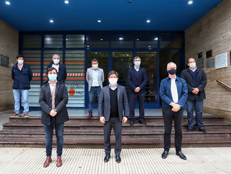 Kicillof inauguró la primera Unidad de Terapia Intensiva de Castelli