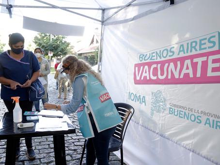 357.486 bonaerenses ya se vacunaron y casi 3 millones se registraron para recibir la inmunización