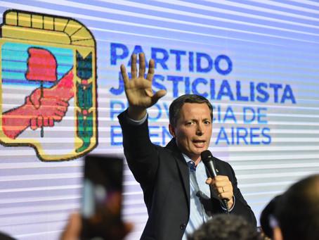 Gray presentó una demanda judicial para impugnar la convocatoria a elecciones del PJ Bonaerense