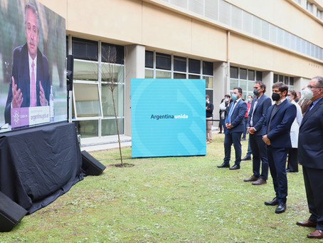 Kicillof participó de la puesta en marcha el Hospital del Bicentenario de Ituzaingó