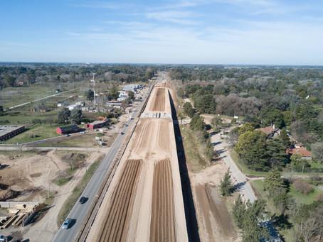 Avanza la transformación en autopista de la ruta nacional 8 en tramo que une Pilar y Pergamino