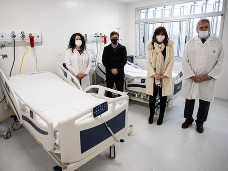 Junto a Cristina, Kicillof inauguró el nuevo edificio del Hospital de Niños Sor María Ludovica