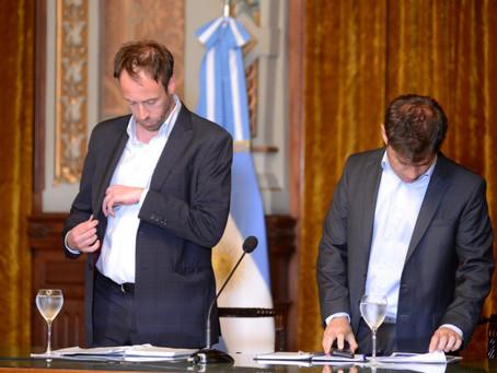 Economía   El Gobierno de Axel Kicillof postergó la negociación de la deuda para enero