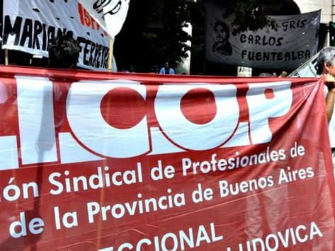 Médicos realizan paro de actividades en rechazo al otorgamiento del aumento salarial por decreto
