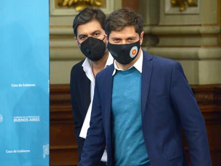 Kicillof anunció la vuelta a la presencialidad escolar en los municipios del Gran Buenos Aires