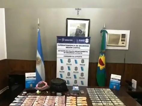 La Plata   Detienen a un joven acusado de liderar una banda narco