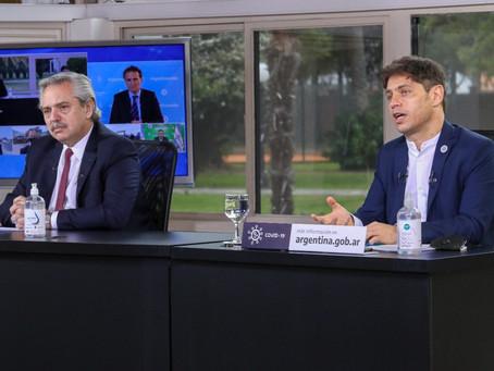 Fernández y Kicillof inauguran obras en cárceles de Varela, Magdalena y San Martín