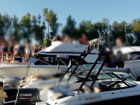 San Isidro | Desbaratan una fiesta clandestina a bordo de un yate