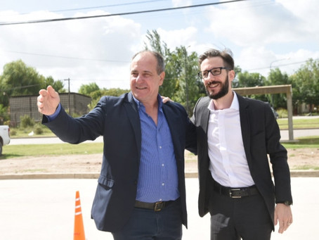 """""""Es una alegría enorme haber estado con un ministro que conoce la problemática de los municipios"""""""