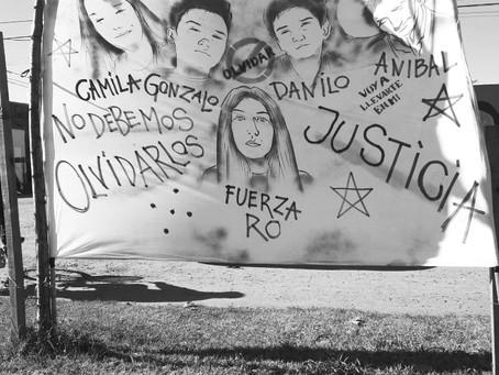 A nueve meses de la Masacre de Monte, familiares marchan exigiendo justicia